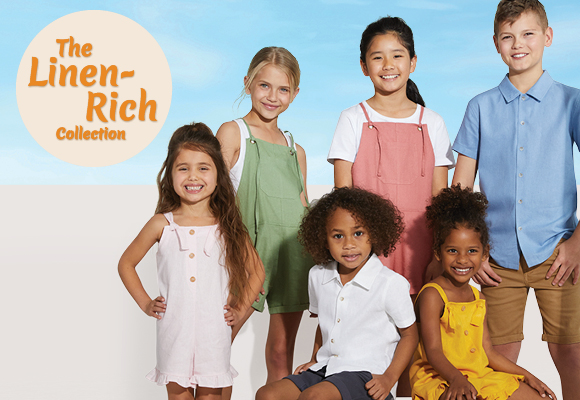 Kids Linen Spring Summer Collection