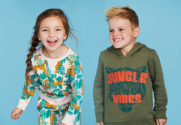 Kids Jungle Themed Apparel for the Winter Wardrobe
