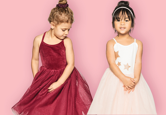 Velour Dance Wear for Kids