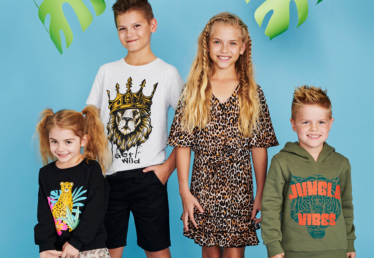 KIDS JUNGLE THEMED FASHION