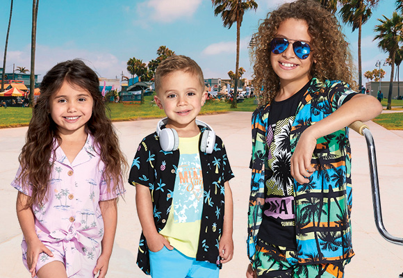 New Retro Miami Range for Kids